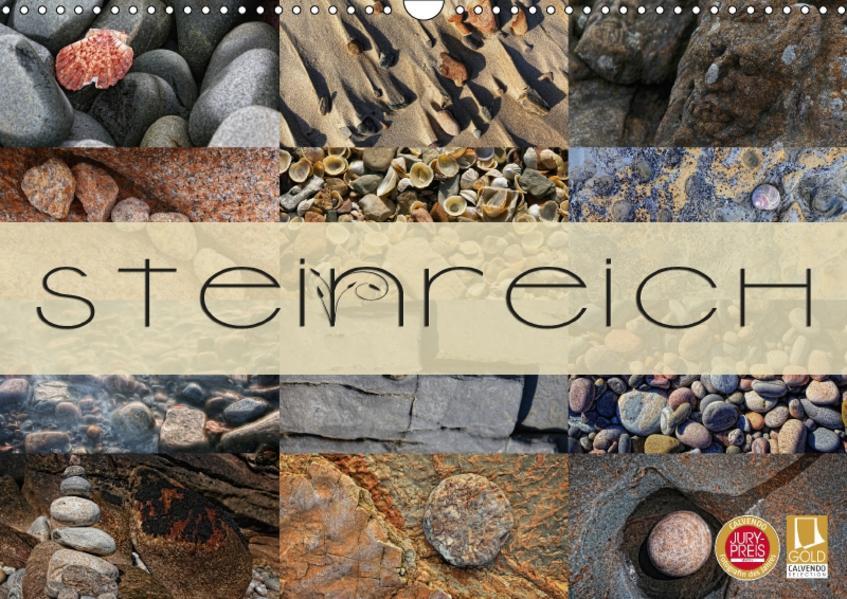 Steinreich (Wandkalender 2017 DIN A3 quer) - Coverbild
