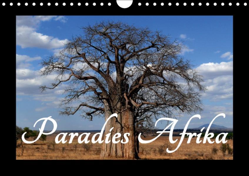 Paradies Afrika (Wandkalender 2017 DIN A4 quer) - Coverbild