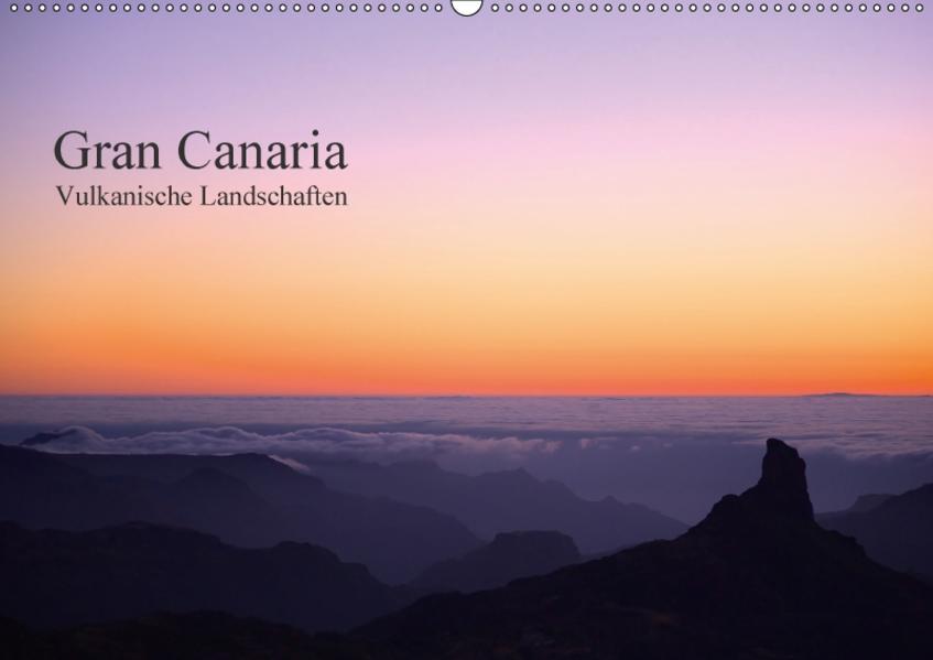 Gran Canaria - Vulkanische Landschaften / CH-Version (Wandkalender 2017 DIN A2 quer) - Coverbild