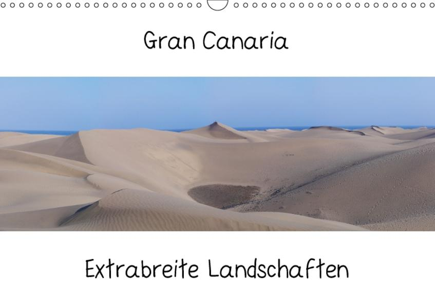 Gran Canaria - Extrabreite Landschaften / AT-Version (Wandkalender 2017 DIN A3 quer) - Coverbild