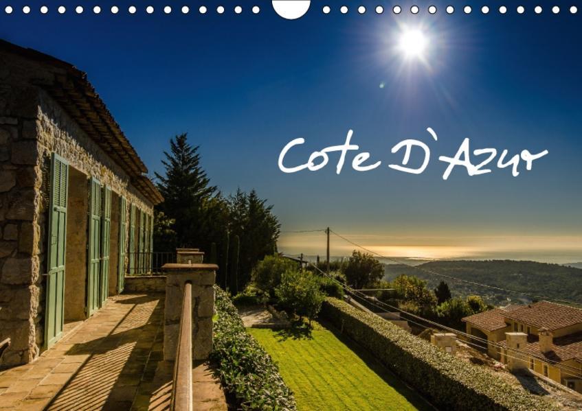Cote D`Azur (Wandkalender 2017 DIN A4 quer) - Coverbild