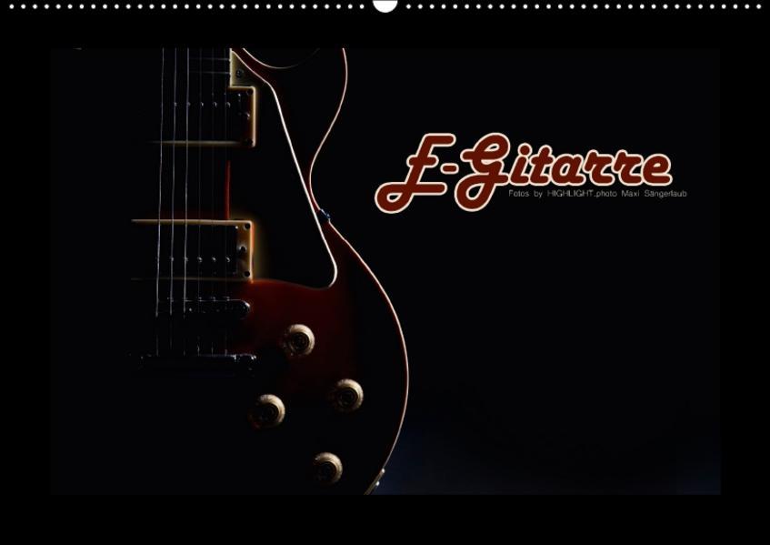 E-Gitarre (Wandkalender 2017 DIN A2 quer) - Coverbild