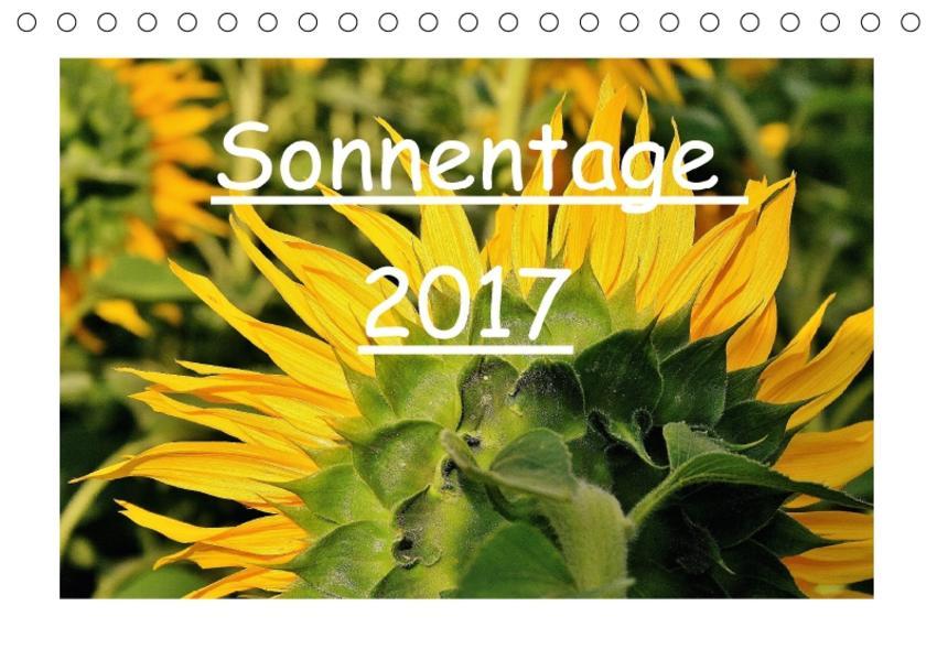 Sonnentage 2017 (Tischkalender 2017 DIN A5 quer) - Coverbild