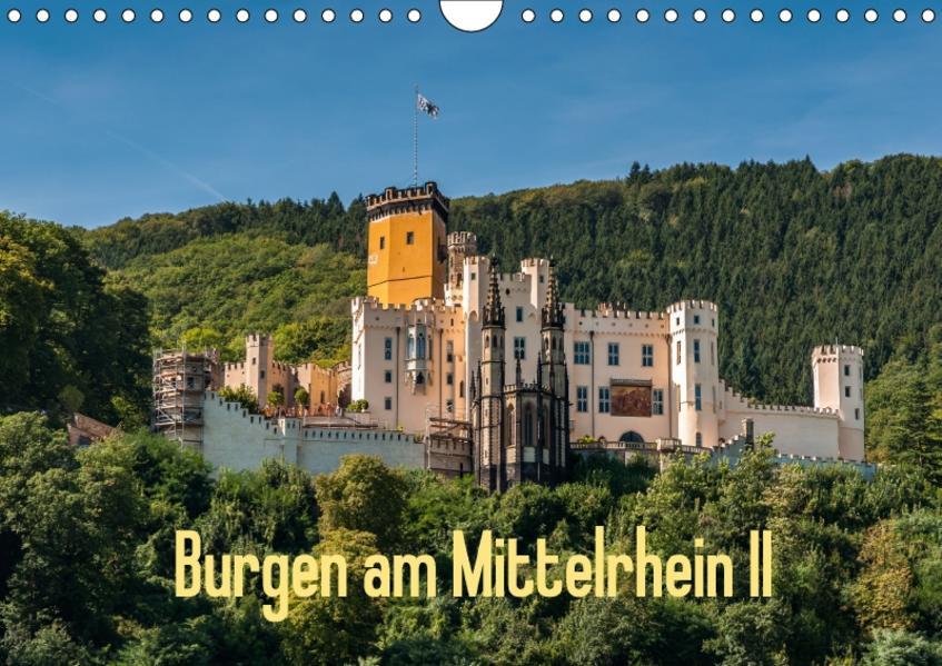 Burgen am Mittelrhein II (Wandkalender 2017 DIN A4 quer) - Coverbild