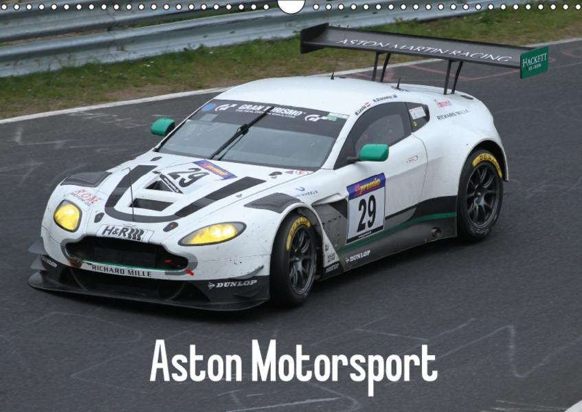 Aston Motorsport (Wandkalender 2017 DIN A3 quer) - Coverbild