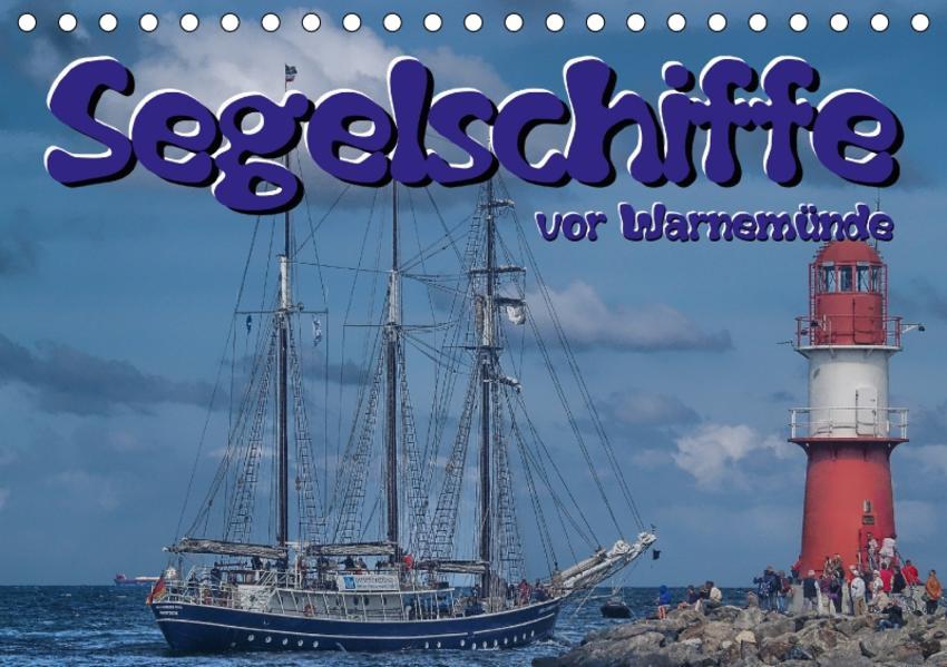Segelschiffe vor Warnemünde (Tischkalender 2017 DIN A5 quer) - Coverbild