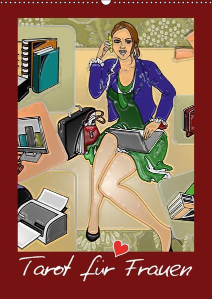 Tarot für Frauen (Wandkalender 2017 DIN A2 hoch) - Coverbild