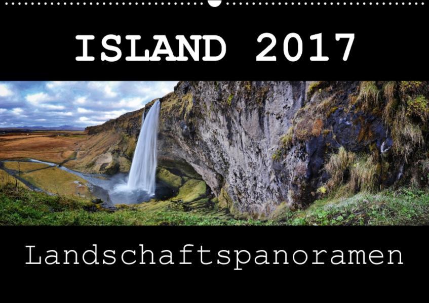 Island Landschaftspanoramen (Wandkalender 2017 DIN A2 quer) - Coverbild