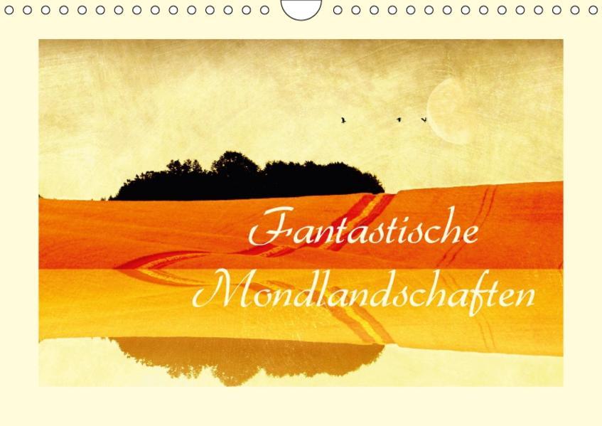 Fantastische Mondlandschaften (Wandkalender 2017 DIN A4 quer) - Coverbild