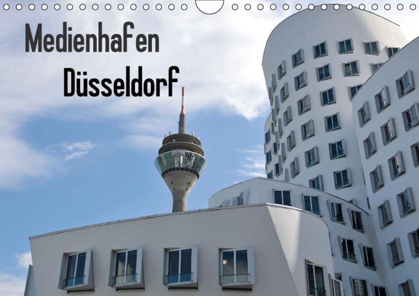 Medienhafen Düsseldorf (Wandkalender 2017 DIN A4 quer) - Coverbild