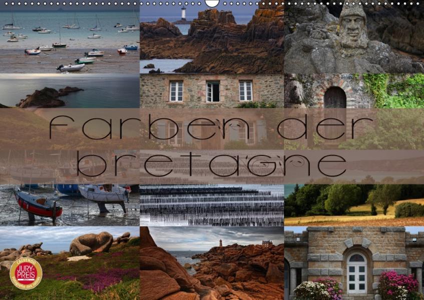 Farben der Bretagne (Wandkalender 2017 DIN A2 quer) - Coverbild
