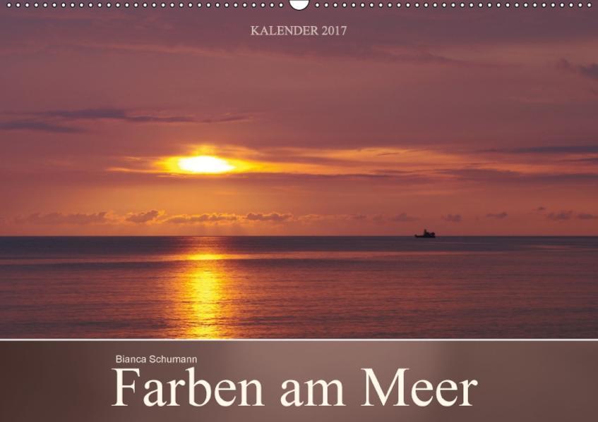Farben am Meer (Wandkalender 2017 DIN A2 quer) - Coverbild