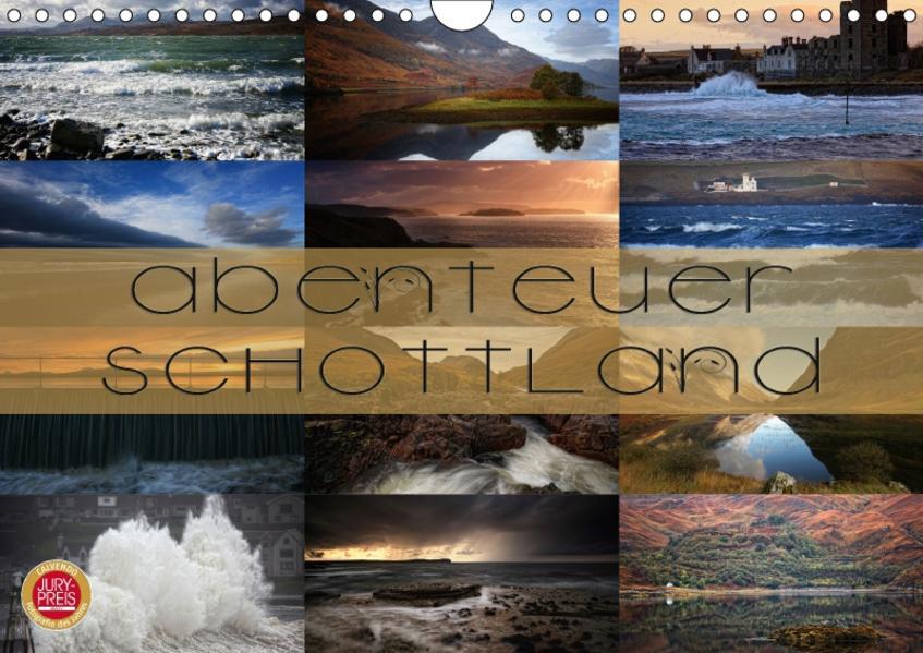 Abenteuer Schottland (Wandkalender 2017 DIN A4 quer) - Coverbild