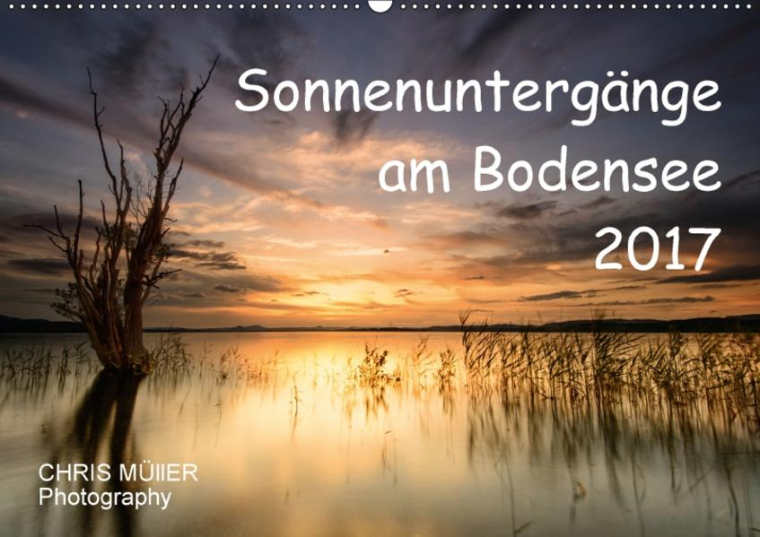 Sonnenuntergänge am BodenseeCH-Version  (Wandkalender 2017 DIN A2 quer) - Coverbild