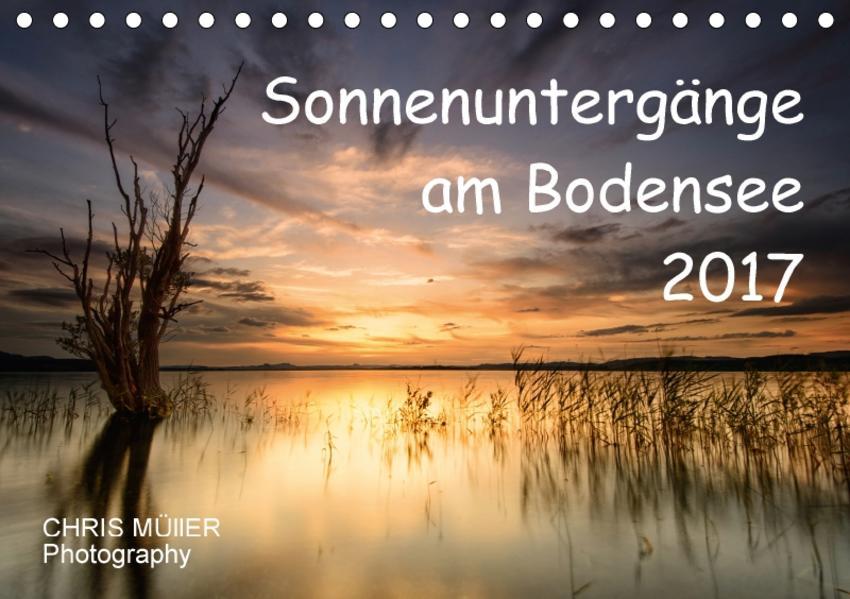 Sonnenuntergänge am BodenseeCH-Version  (Tischkalender 2017 DIN A5 quer) - Coverbild