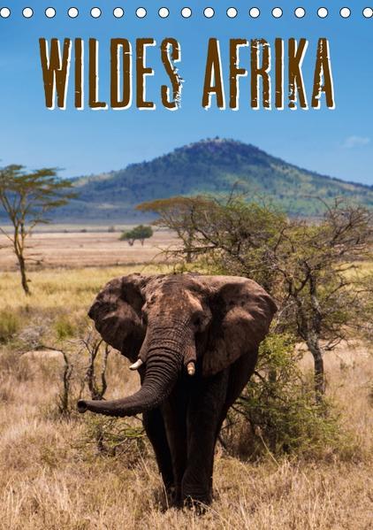 Wildes Afrika (Tischkalender 2017 DIN A5 hoch) - Coverbild
