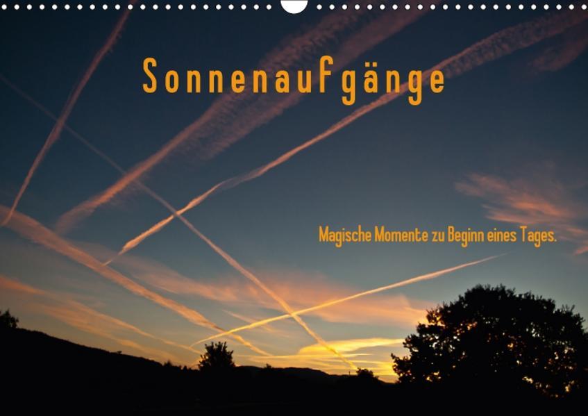 Sonnenaufgänge / Geburtstagskalender (Wandkalender 2017 DIN A3 quer) - Coverbild