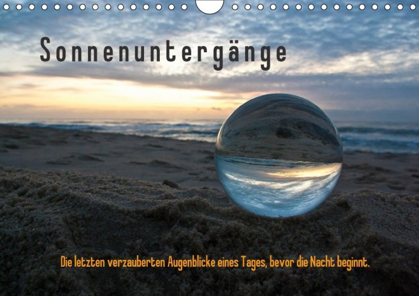 Sonnenuntergänge / Geburtstagskalender (Wandkalender 2017 DIN A4 quer) - Coverbild