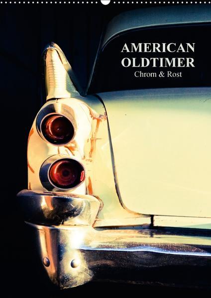 American Oldtimer (Wandkalender 2017 DIN A2 hoch) - Coverbild