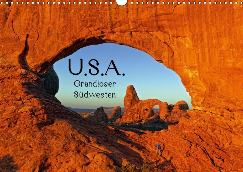 USA - Grandioser Südwesten (Wandkalender 2017 DIN A3 quer) - Coverbild