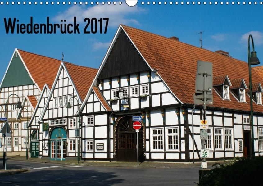 Wiedenbrück 2017 (Wandkalender 2017 DIN A3 quer) - Coverbild