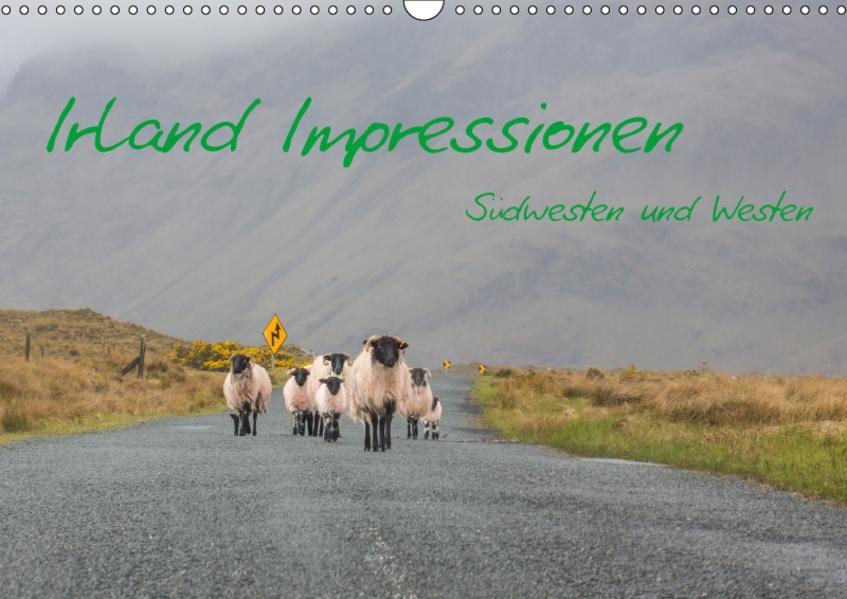 Irland Impressionen Südwesten und Westen (Wandkalender 2017 DIN A3 quer) - Coverbild