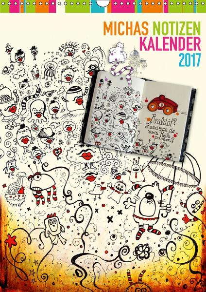 Michas Notizen (Wandkalender 2017 DIN A3 hoch) - Coverbild