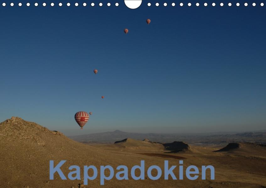 Kappadokien (Wandkalender 2017 DIN A4 quer) - Coverbild