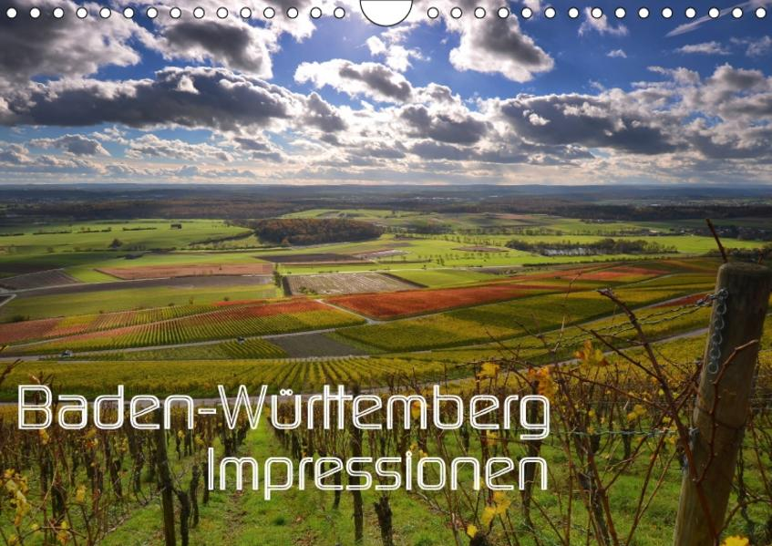 Baden-Württemberg Impressionen (Wandkalender 2017 DIN A4 quer) - Coverbild