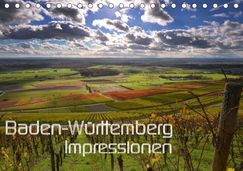 Baden-Württemberg Impressionen (Tischkalender 2017 DIN A5 quer) - Coverbild