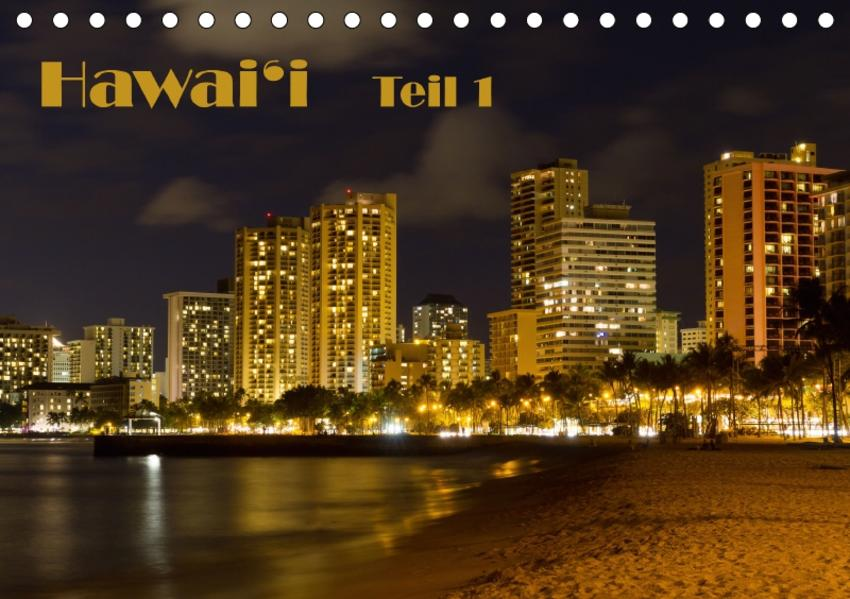 Hawai'i - Teil 1 / CH-Version (Tischkalender 2017 DIN A5 quer) - Coverbild