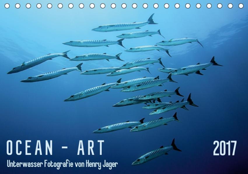 Ocean-Art / CH-Version (Tischkalender 2017 DIN A5 quer) - Coverbild