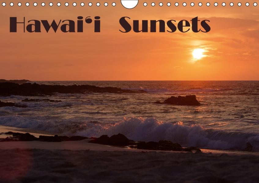Hawai'i Sunsets / CH-Version (Wandkalender 2017 DIN A4 quer) - Coverbild