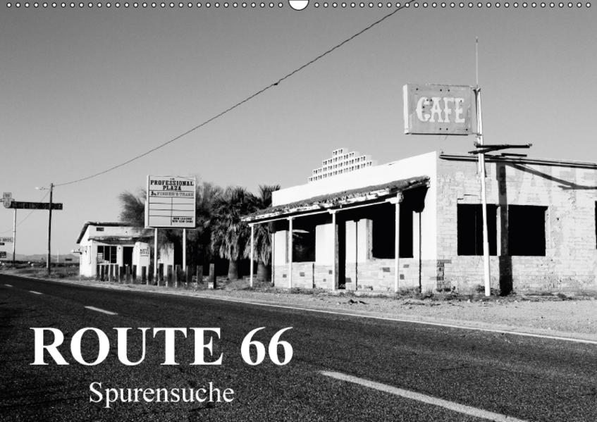 Route 66 (Wandkalender 2017 DIN A2 quer) - Coverbild