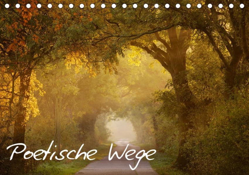 Poetische Wege (Tischkalender 2017 DIN A5 quer) - Coverbild