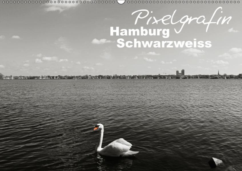 Hamburg Schwarzweiss (Wandkalender 2017 DIN A2 quer) - Coverbild