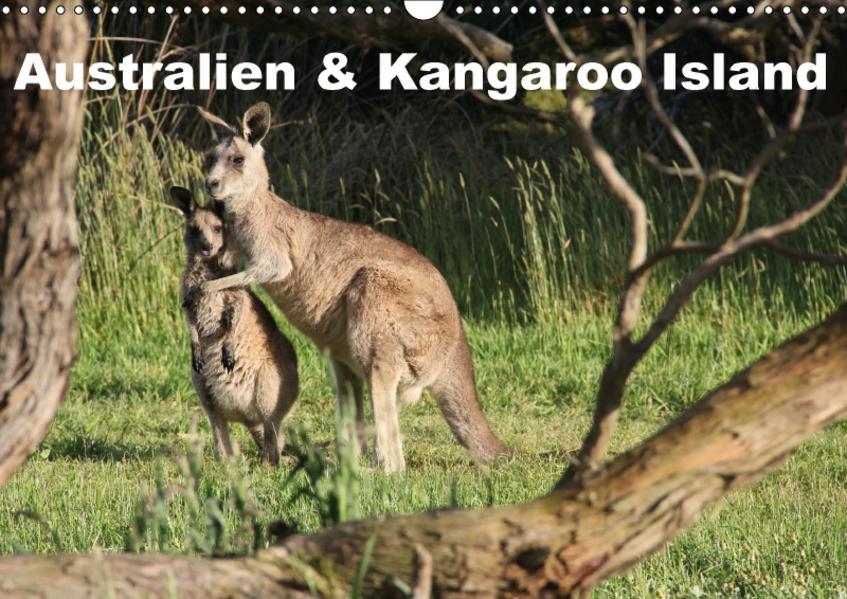Australien & Kangaroo Island 2017 (Wandkalender 2017 DIN A3 quer) - Coverbild