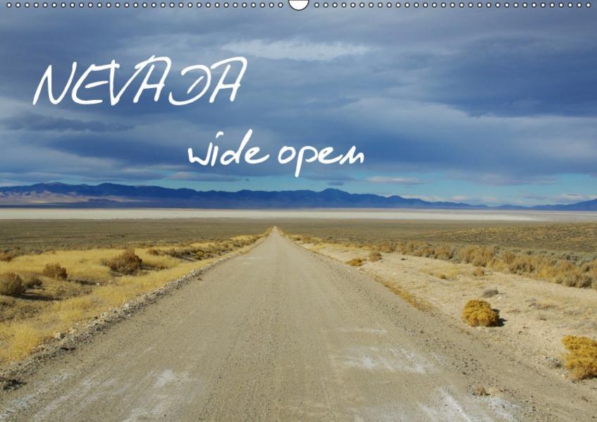Nevada wide open / CH-Version (Wandkalender 2017 DIN A2 quer) - Coverbild