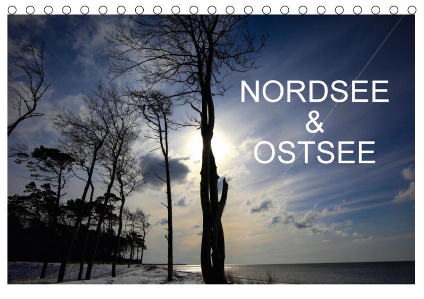 Nordsee & Ostsee / CH-Version (Tischkalender 2017 DIN A5 quer) - Coverbild
