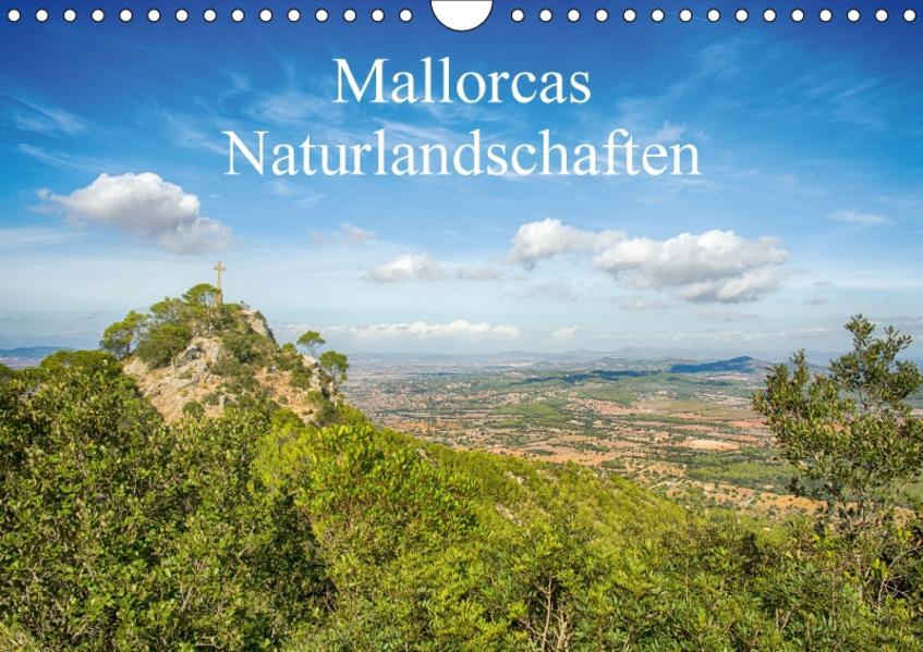 Mallorcas Naturlandschaften (Wandkalender 2017 DIN A4 quer) - Coverbild
