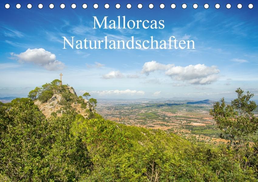 Mallorcas Naturlandschaften (Tischkalender 2017 DIN A5 quer) - Coverbild