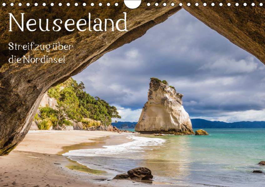 Neuseeland - Streifzug über die Nordinsel / CH-Version (Wandkalender 2017 DIN A4 quer) - Coverbild