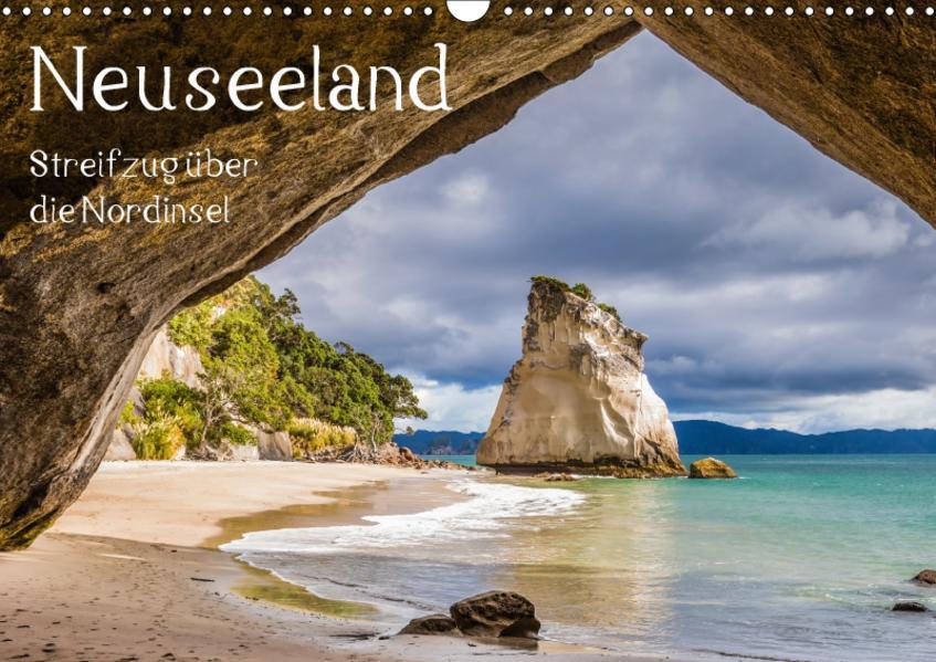 Neuseeland - Streifzug über die Nordinsel / CH-Version (Wandkalender 2017 DIN A3 quer) - Coverbild