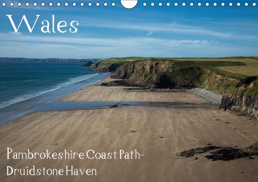Wales- Pambrokeshire Coast Path- Druidstone Haven (Wandkalender 2017 DIN A4 quer) - Coverbild