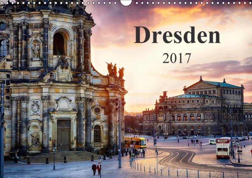 Dresden 2017 / Geburtstagskalender (Wandkalender 2017 DIN A3 quer) - Coverbild