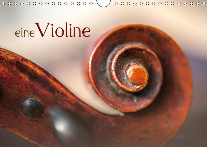eine Violine / CH-Version / Geburtstagskalender (Wandkalender 2017 DIN A4 quer) - Coverbild