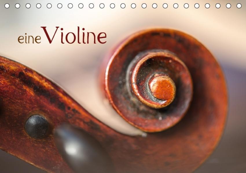eine Violine / CH-Version / Geburtstagskalender (Tischkalender 2017 DIN A5 quer) - Coverbild