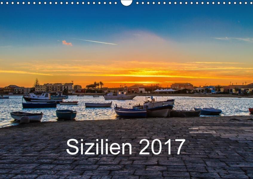 Sizilien 2017 / CH-Version (Wandkalender 2017 DIN A3 quer) - Coverbild