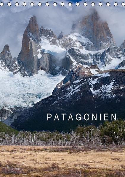 Patagonien (Tischkalender 2017 DIN A5 hoch) - Coverbild