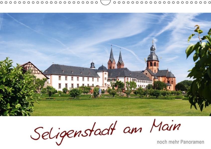 Seligenstadt am Main - noch mehr Panoramen (Wandkalender 2017 DIN A3 quer) - Coverbild